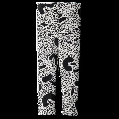 Leggins Dalmatians   musta-valkoinen   80-150cm
