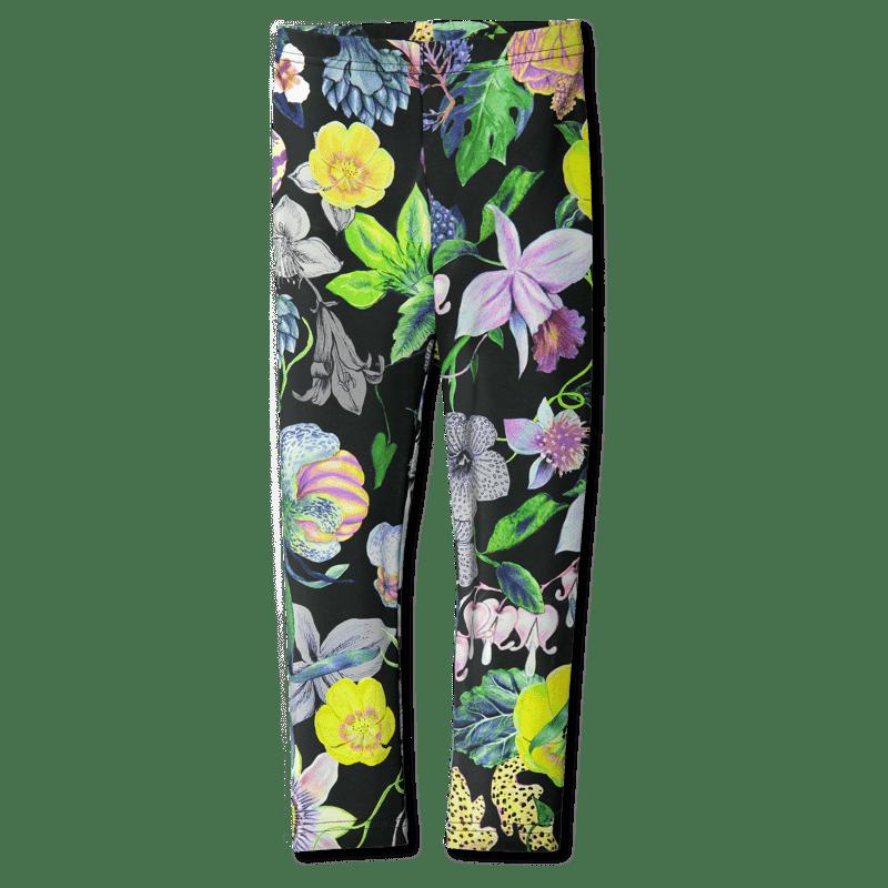 Leggings /'mystical flowers' (col2) 80–150cm - leggins