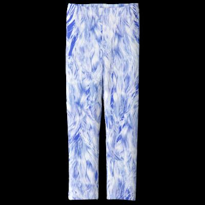 Leggings /'wind in the hair' (blue&white) 80–150cm