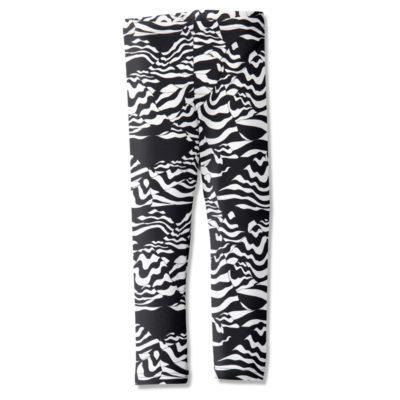 Leggings /'mountaineer' (black&white) 80–150cm