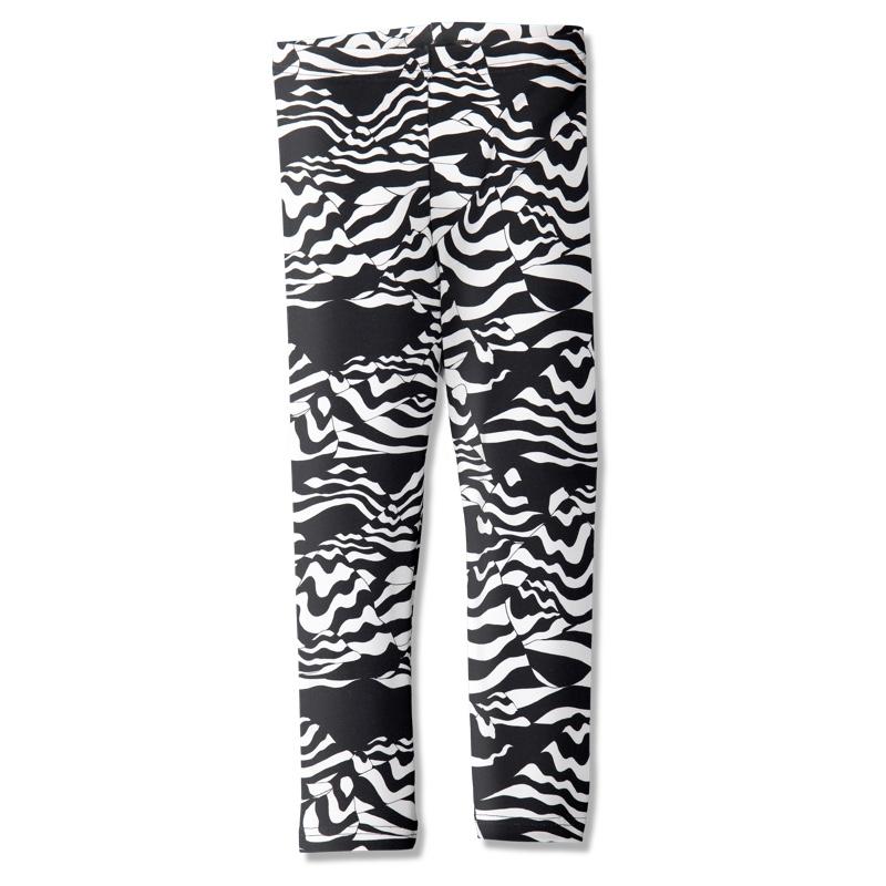 Leggings /'mountaineer' (black&white) 80–150cm - leggins