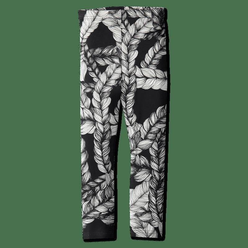 Leggins /'letti' (musta) 80-150cm - leggins, letti