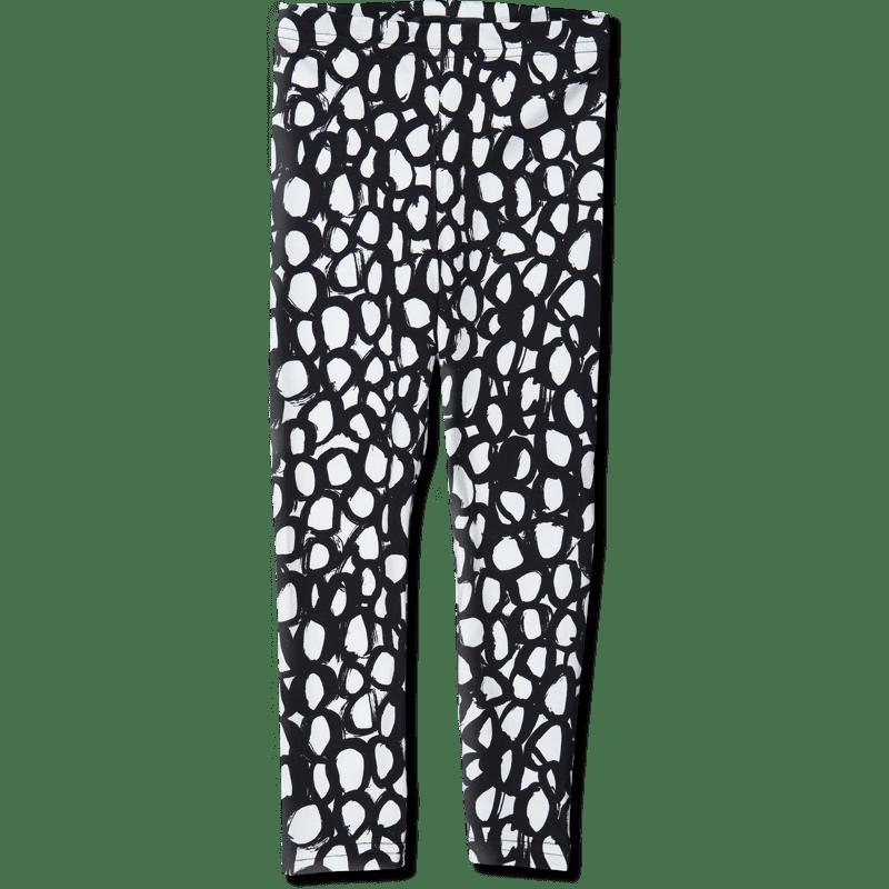 Leggins/'maru' (musta-valk) 80-150cm - leggins, maru