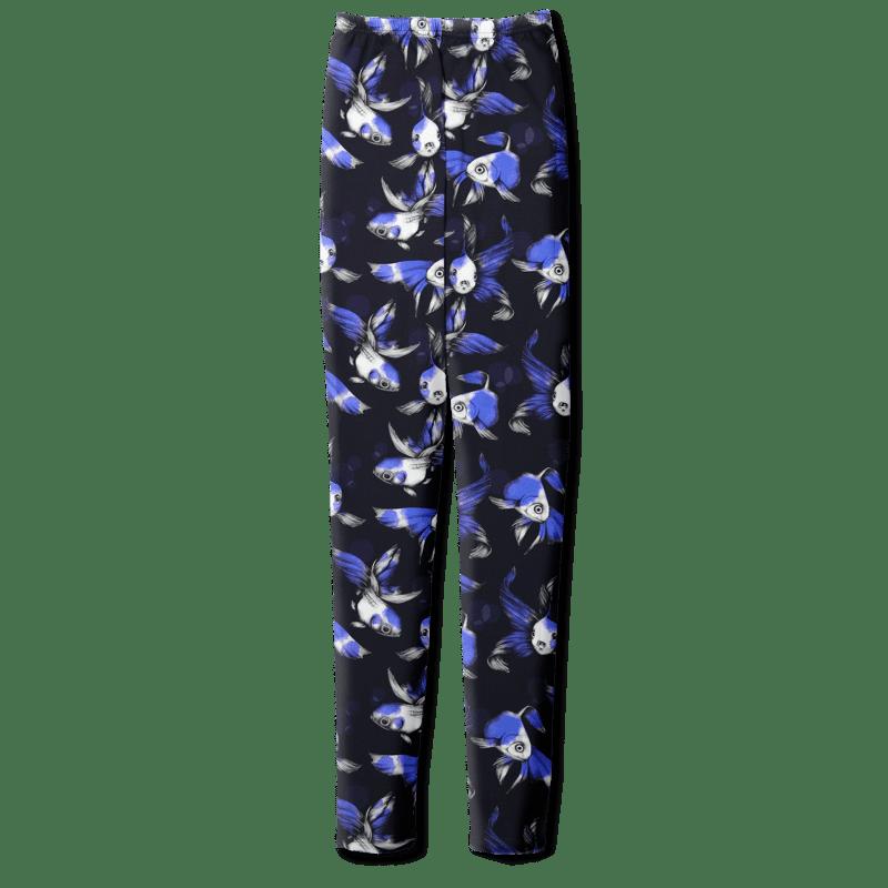Leggins /'fisut' (sininen) XS-XL - fisut, leggins