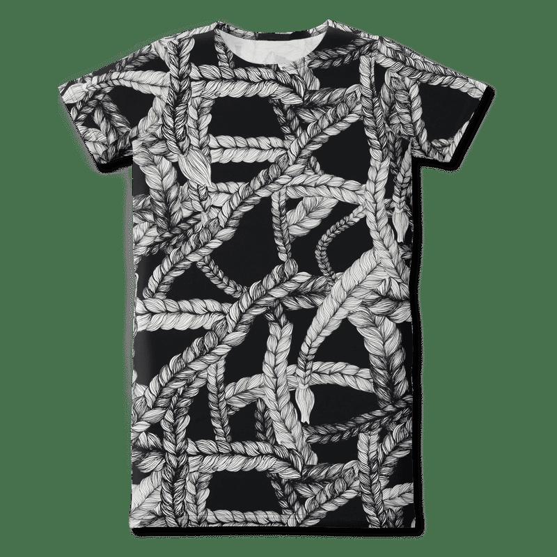 Teeppamekko /'letti' (musta) 80-160 cm - letti, teeppamekko