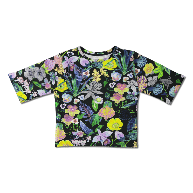 College /'mystical flowers' (col2) onesize - college, mystical-flowers