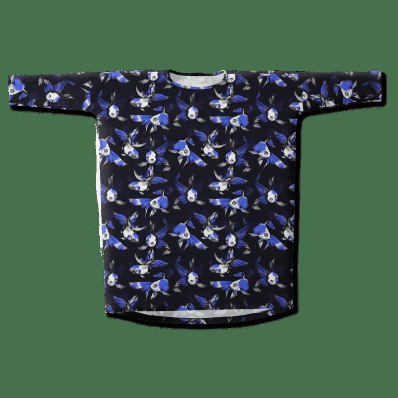 Tunika/'Fisu' (sininen) one size - fisu, tunika