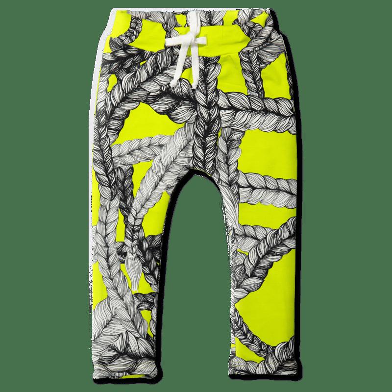 Collegehousut /`letti` (neon) 90-140cm - collegehousut, letti