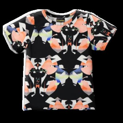 Teeppa /'perhonen' (musta-koralli) 80-140 cm