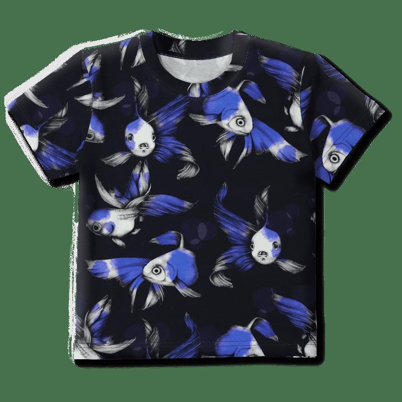 Vimma Teeppa fisu sininen 80-140cm - 80-140cm, fisu, sininen