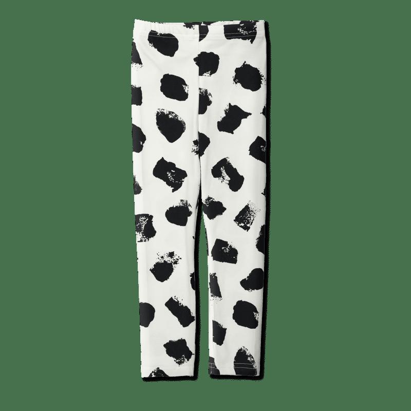 Vimma Leggins Muuri musta-valkoinen 80-150 cm - 80-150 cm, musta-valkoinen, Muuri