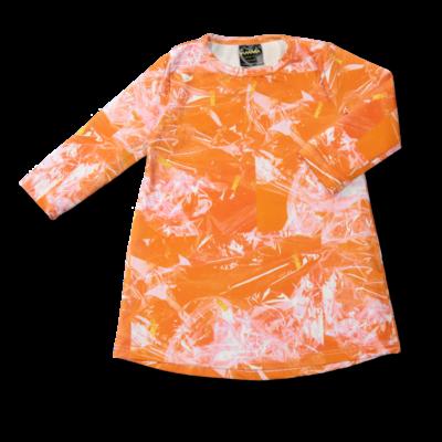 Tunikamekko Glitterheaven oranssi 80-140cm