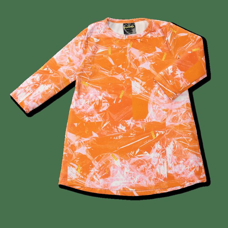 Vimma Tunikamekko Glitterheaven oranssi 80-140cm - 80-140cm, Glitterheaven, oranssi