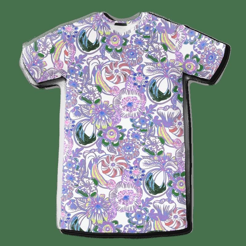Vimma Cutted-Maxi Voimakukka valko-värikäs onesize - (valko-värikäs), Onesize, voimakukka