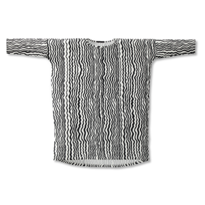 Tunika Aaltoraita   musta-valkoinen   onesize