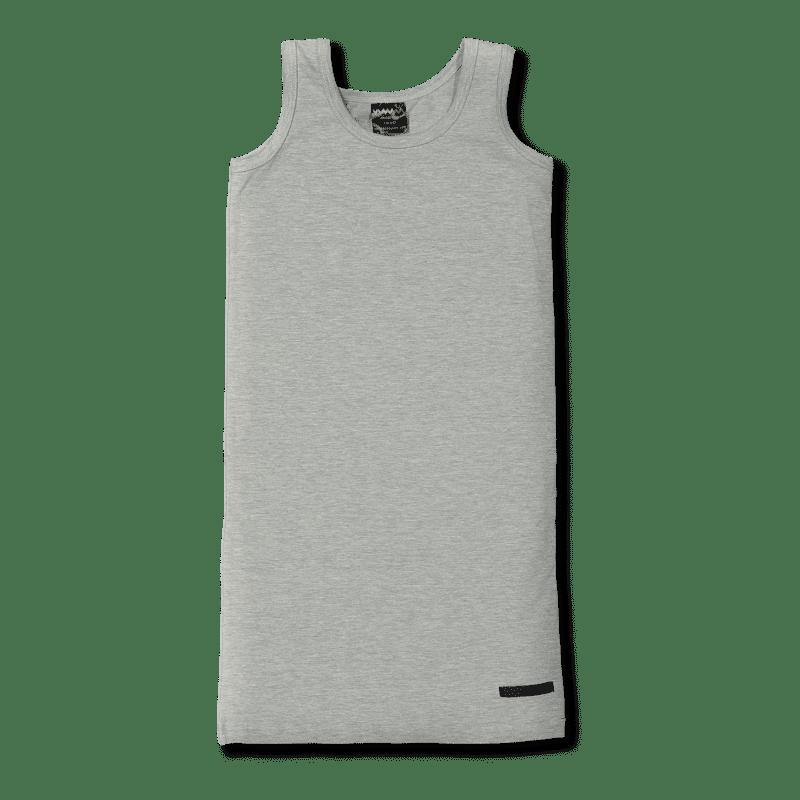 Vimma Toppimekko yksivärinen   harmaa - 90-140 cm, harmaa, yksivärinen