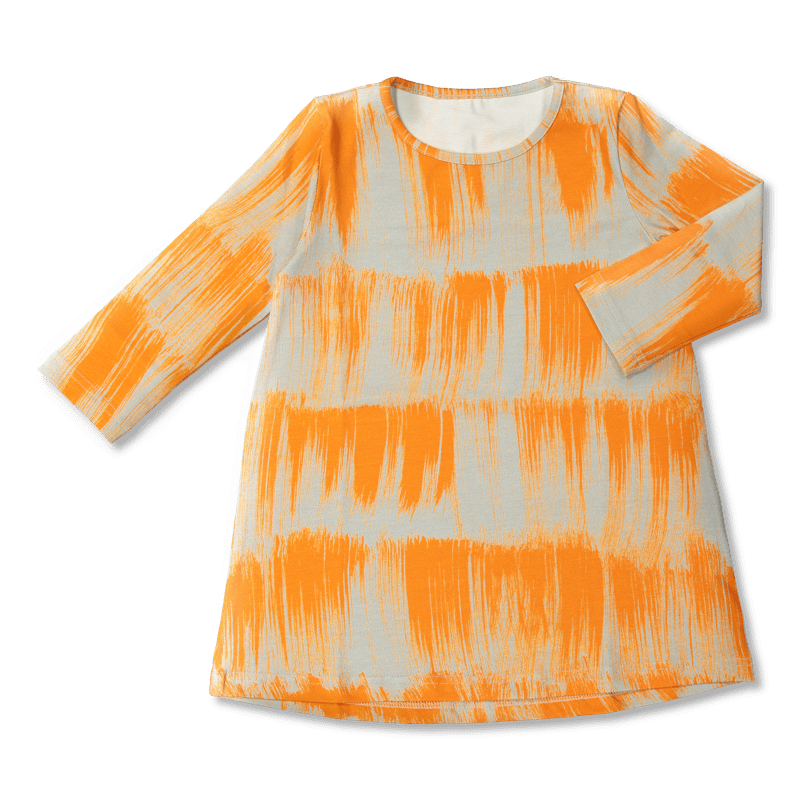 Vimma Tunikamekko Huiske beige-oranssi -
