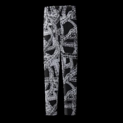 Leggins Letti   musta-hopea   XS-XL