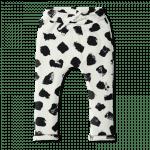Vimma Collegehousut Muuri musta-valkoinen 90-140 cm - 90-140 cm, musta-valkoinen, Muuri