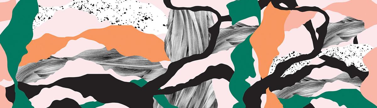 Vimma Leggings /'ink blot' (black&white&multicolour) 80–140cmLeggings /'ink blot' (black&white&multicolour) 80–140cmLeggings /'ink blot' (black&white&multicolour) 80–140cm - 140 -