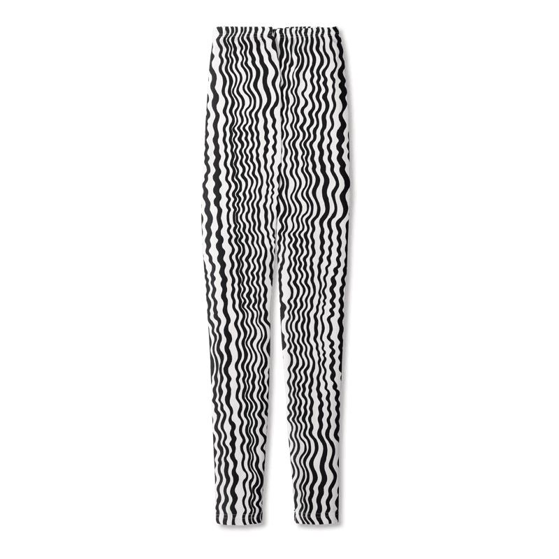Vimma Leggins Aaltoraita   musta-valkoinen   Onesize - `aaltoraita`, musta-valkoinen, Onesize