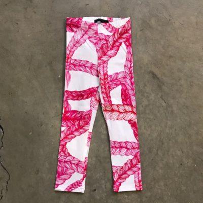 Leggins Letti   valko-pinkki   80-150cm