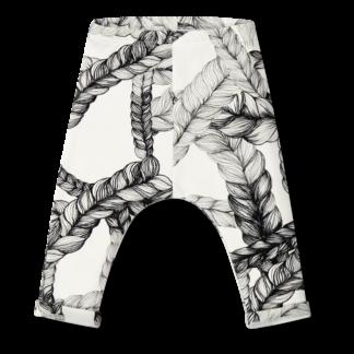 Vimma Jerseybaggies SEEM Letti black-white 60-120cm - 60-120cm, black-white, braid, Jerseybaggies, SEEM