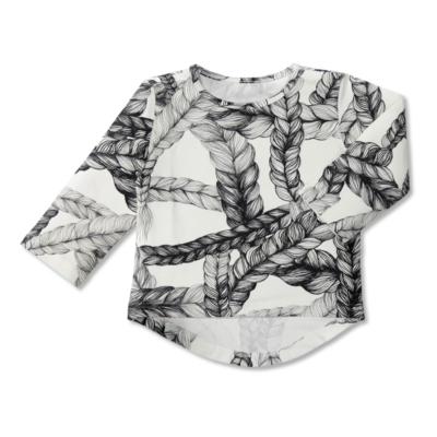 UTU-paita Letti   musta-valkoinen   80-140cm