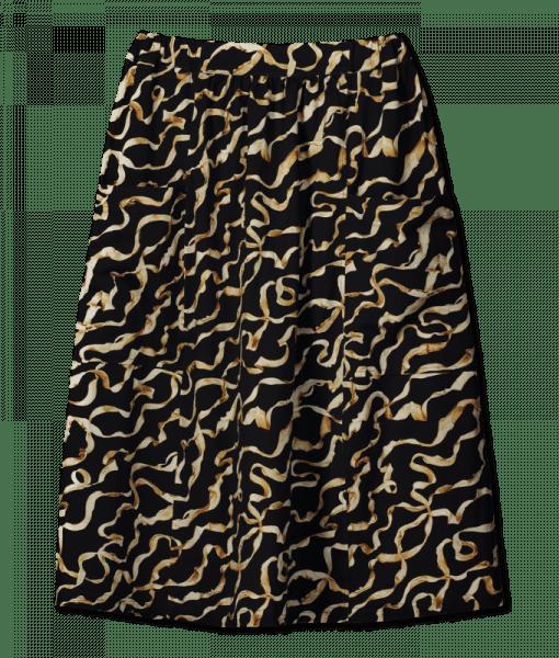 Vimma Hame silkkinauha   musta-kulta   Onesize -
