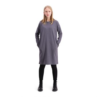 Vimma Saima-tunic one-colored dark grey Onesize - dark grey, one-colored, Onesize, Saima-tunic