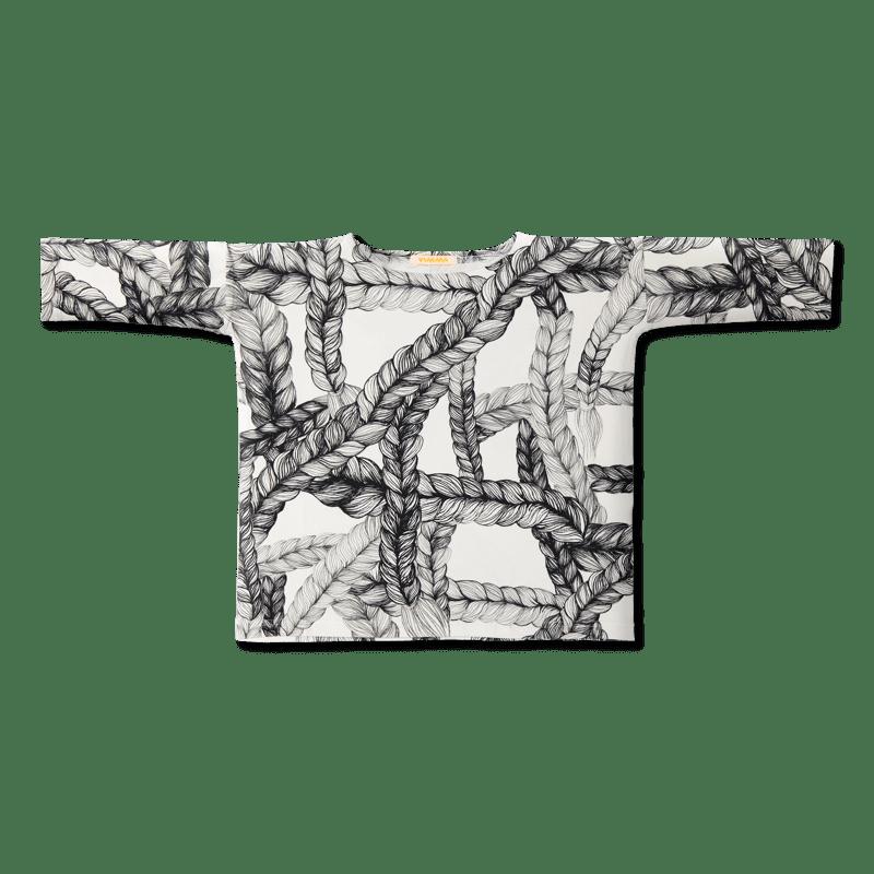 Vimma Alma-shirt   Letti   musta-valk   100-150 cm - 100-150 cm, Alma-shirt, black-white, letti