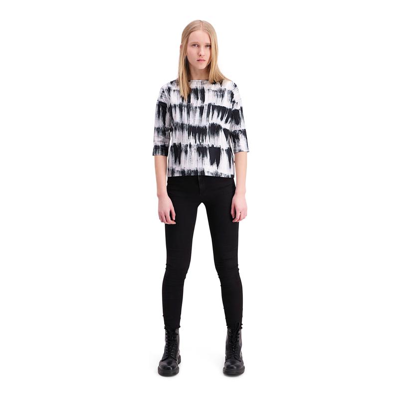 Vimma Lana-shirt   Huiske   black-white   S-L - black-white, Huiske, Lana-shirt, S-L