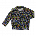 Vimma Bomber jacket   Rypsi   black-colourful   90-140cm - 90-140cm, black-colourful, Bomber jacket, Rypsi