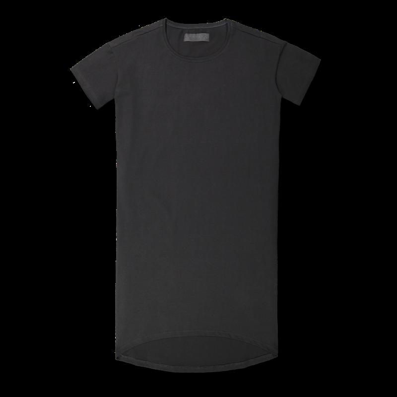 Vimma T-shirt dress ONNI one-colored black Onesize - black, one-colored, Onesize, ONNI, t-shirt-dress