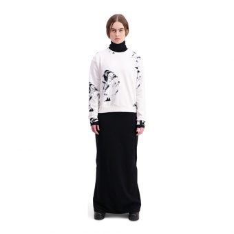 Vimma Sweatshirt Long sleeved ANNA Shaman big black-white XS-XL - ANNA, black-white, Shaman big, Sweatshirt / Long sleeved, XS-XL
