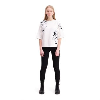 Vimma Sweatshirt  34 sleeves   VOITTO   Shaman big   black-white   onesize - black-white, Onesize, Shaman big, Sweatshirt / 3/4 sleeves, VOITTO
