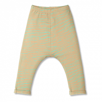 Vimma Baggy pants SEEM Africa Stripes sand-mint 60-120cm - 60-120cm, Africa Stripes, Baggy pants, sand-mint, SEEM