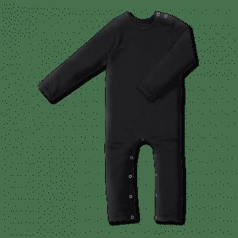 Vimma Childrens jumpsuit RASA one-colored black 60-90cm - 60-90cm, black, Children's jumpsuit, one-colored, RASA