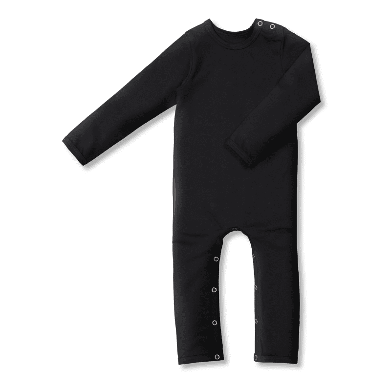 Vimma Childrens jumpsuit RASA one-colored black 60-90cm - 60-90cm, black, Children's jumpsuit, one-colored, RASA