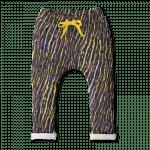 Vimma Sweatpants Leon Africa Stripes lilac-yellow 80-140 cm - 80-140 cm, Africa Stripes, Leon, lilac-yellow, Sweatpants