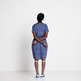 Vimma Dress PÄIVIÖ Vahva blue-grey Onesize - blue-grey, Dress, Onesize, PÄIVIÖ, Vahva
