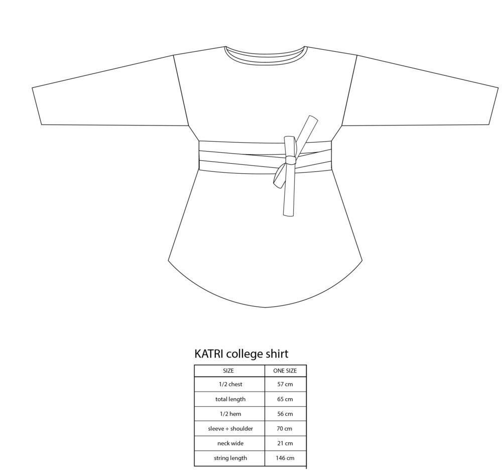 Vimma Sweatshirt Waistband KATRI Letti harmaahevonen Onesize - braid, harmaahevonen, KATRI, Onesize, Sweatshirt / Waistband