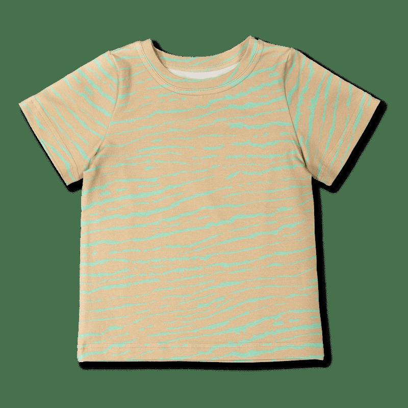 Vimma t-shirt LIU African Stripes sand-mint 80-140cm - 80-140cm, African Stripes, LIU, sand-mint, t-shirt