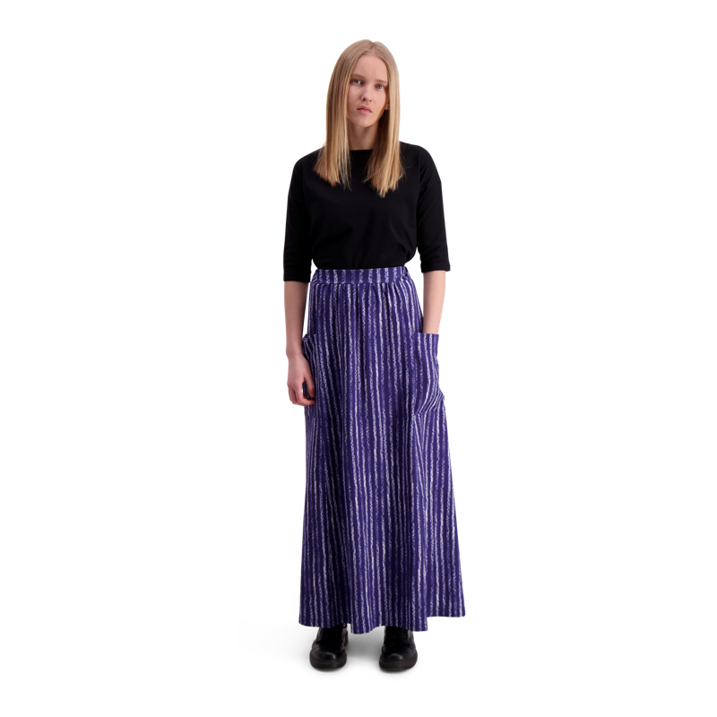 51205cc62 Skirt / Long / Utu-raita - blue Onesize - Vimma Company OY