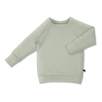 Vimma sweatshirt RIA one-colored eucalyptus 80-140cm - 80-140cm, eucalyptus, one-colored, RIA, sweatshirt