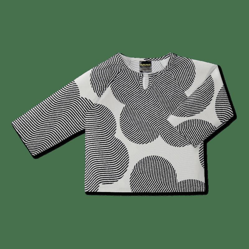 Vimma Shirt ERI Ambience black-white 90-140cm - 90-140cm, Ambience, black-white, ERI, Shirt