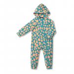 Vimma Jumpsuit AAPELI Lapsen ääni turquoise-peach 60-110cm - 60-110cm, AAPELI, Jumpsuit, Lapsen ääni, turquoise-peach