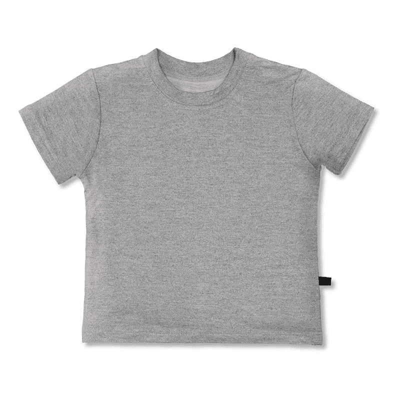 T-shirt / bamboo / one-colored - grey 80-140cm - Vimma Company OY