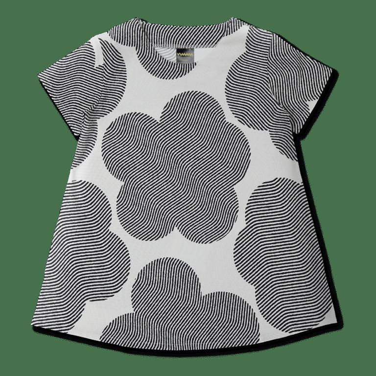 Vimma Dress MOA Ambience black-white 90-150cm - 90-150cm, Ambience, black-white, Dress, MOA