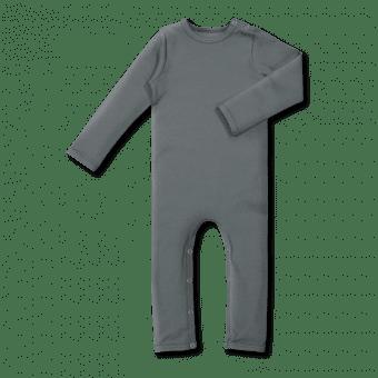 Vimma bodysuit RASA one-colored waffle grey 60-90cm - 60-90cm, bodysuit, one-colored, RASA, waffle grey